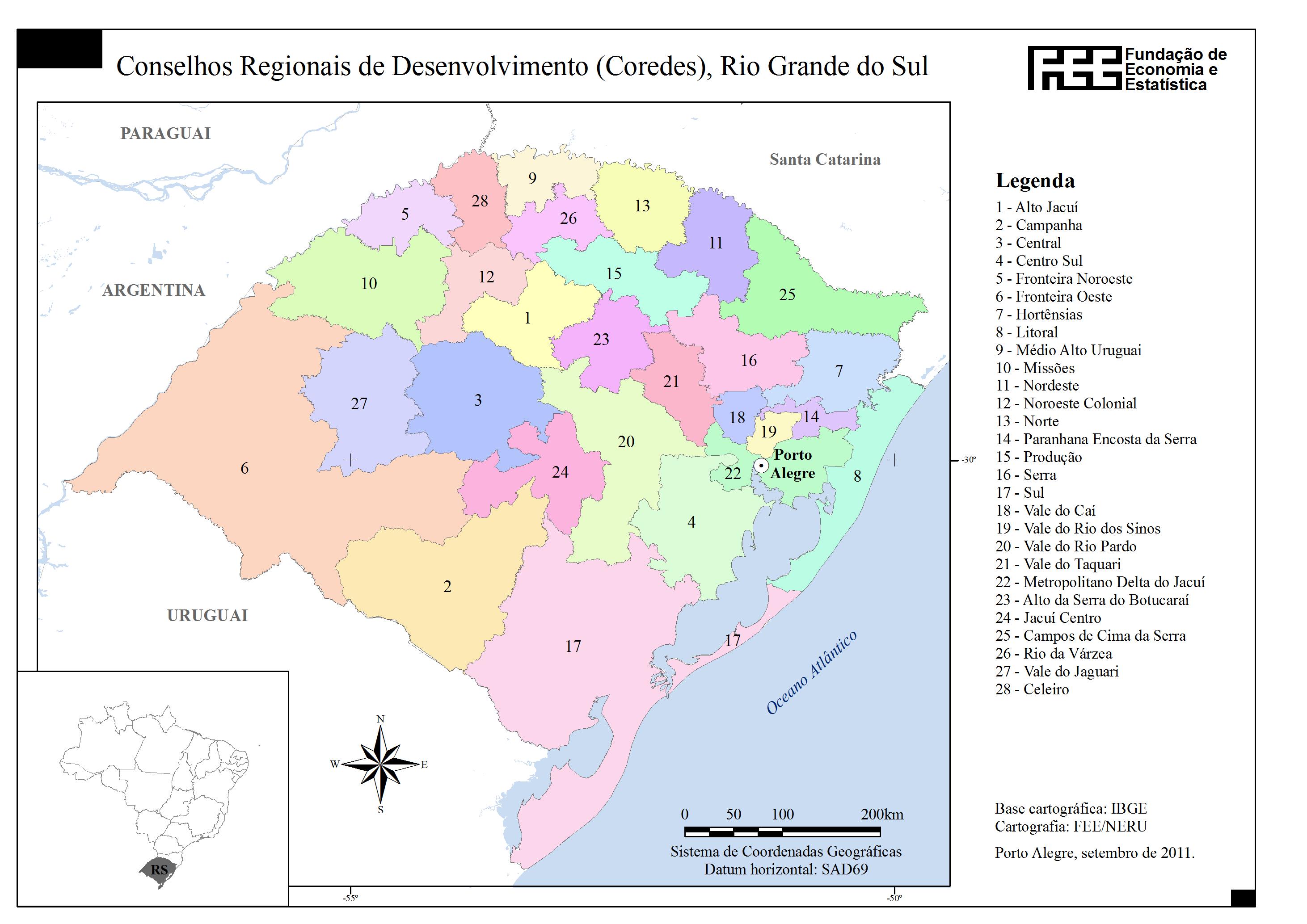 Paranhana-Encosta da Serra em 2015